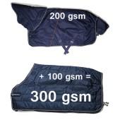 Bundle - Stable rug and Underlayer (300gsm)