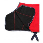 Red & Black Fleece Cooler