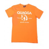 Athletic Fit Orange T-shirt