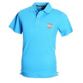 Blue Polo Shirt Athletic