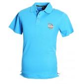 Blue Polo Shirt Athletic