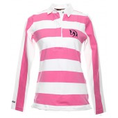 Flamingo & White Rugby Shirt