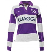 Purple & Grey Rugby Shirt