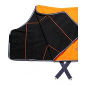 Orange & Black Fleece Cooler