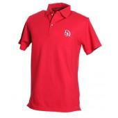Red Polo Shirt, White logo